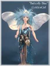 """Butterfly Blue"" - A Custom Doll by GoldenGirl"