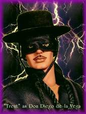 Trent Repaint as Zorro